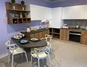 Cucina altri colori moderna ad angolo Urban Record cucine in Offerta Outlet