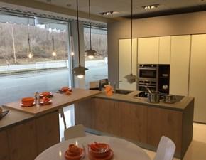 Cucina altri colori moderna ad isola Aspen Doimo cucine in Offerta Outlet