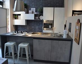 Cucina altri colori moderna ad isola Korinna Evo cucine in Offerta Outlet