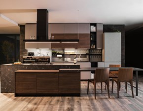 Cucina altri colori moderna ad isola Nine 02 Diotti.com in Offerta Outlet