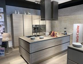 Cucina altri colori moderna ad isola Oyster  Veneta cucine in Offerta Outlet