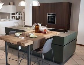 Cucina altri colori moderna ad isola Soho Valdesign cucine in Offerta Outlet