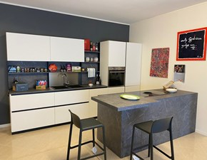 Cucina altri colori moderna ad isola Trend Forma 2000 in Offerta Outlet