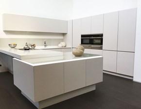 Cucina altri colori moderna con penisola Cucina bidue mod. diamant Artigianale in Offerta Outlet
