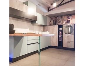 Cucina altri colori moderna con penisola Quadro Aran cucine