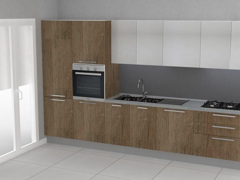 Cucina altri colori moderna lineare Aran_promo360_v Aran cucine