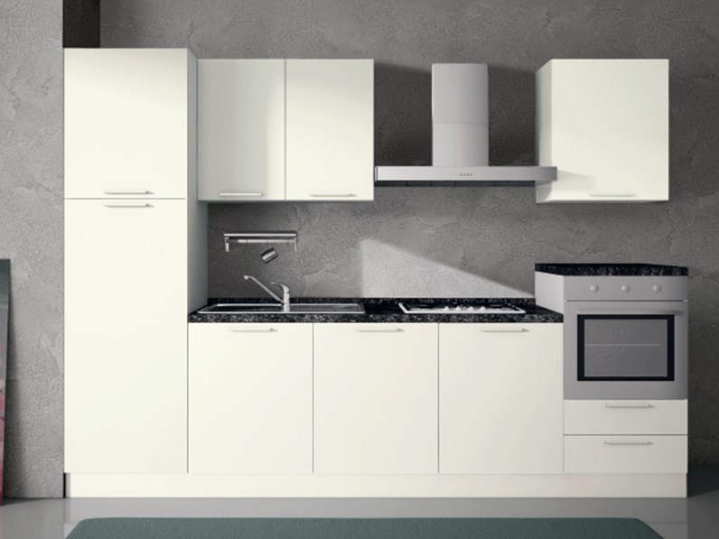 Cucina Altri Colori Moderna Lineare Composizione Da 300 3 Arrex