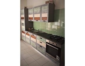 Cucina altri colori moderna lineare Cucina eco shabby color vintage   Nuovi mondi cucine scontata