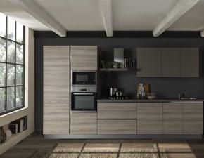 Cucina altri colori moderna lineare Delizia  Net cucine in Offerta Outlet