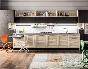 Cucina altri colori moderna lineare Fiorella Arrex in Offerta Outlet