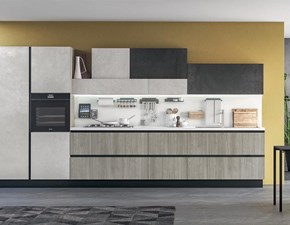Cucina altri colori moderna lineare Immagina plus neck Lube cucine in Offerta Outlet