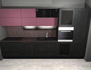Cucina altri colori moderna lineare Licia - faro Aran cucine in Offerta Outlet