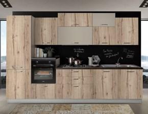 Cucina altri colori moderna lineare New smart 330 Net cucine in Offerta Outlet