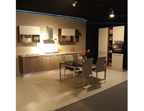 Cucina altri colori moderna lineare Noemi Lube cucine in Offerta Outlet