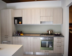 Cucina altri colori moderna lineare Quadra Artec in Offerta Outlet