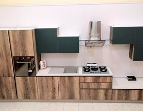 Cucina altri colori moderna lineare Stratos Stosa in Offerta Outlet