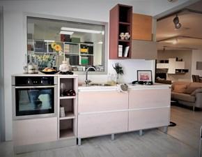 Cucina altri colori moderna lineare Zenzero Arrex in Offerta Outlet