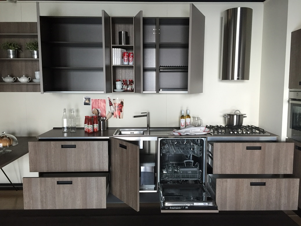 Cucina lineare cesar scontata del 50 cucine a prezzi for Offerte cucine lineari