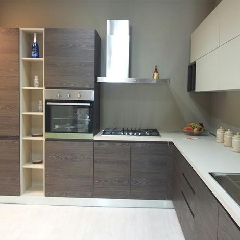 Cucina ar due arcobaleno scontato del 33 cucine a - Cucina con piano cottura angolare ...