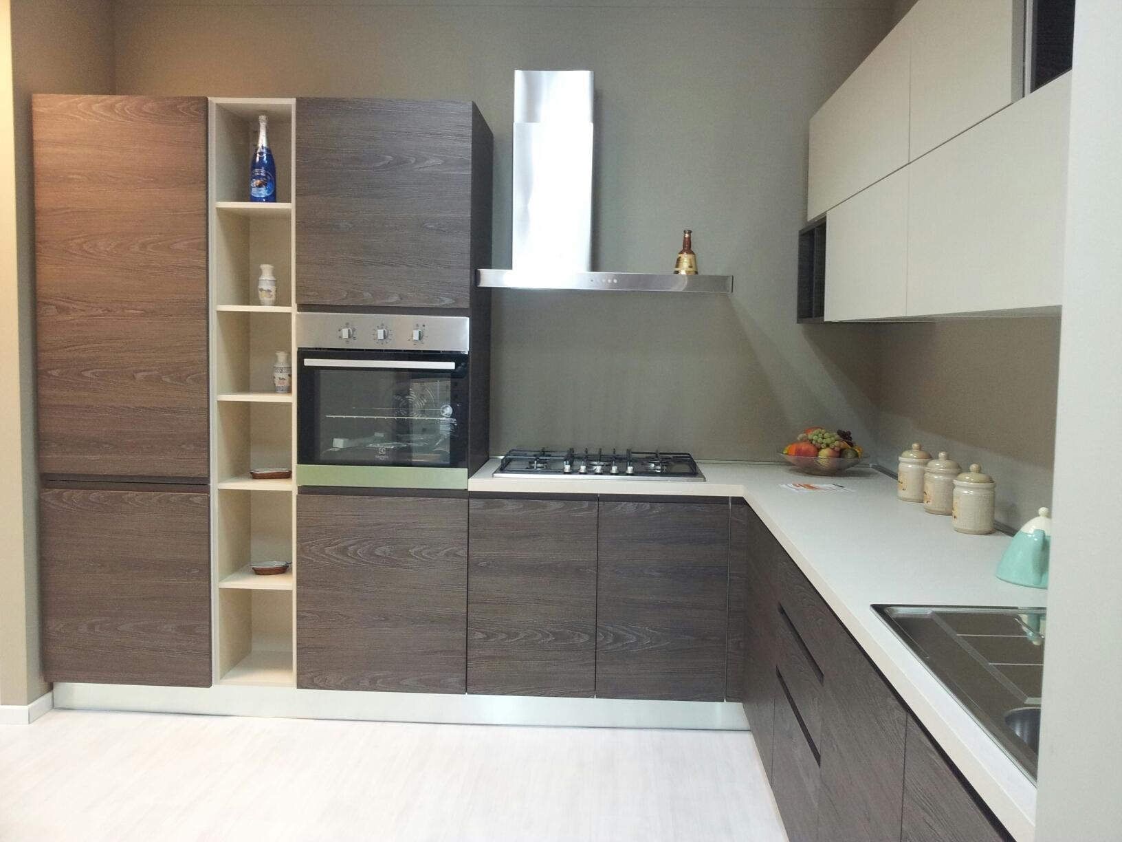 Cucina Angolare Monoblocco : Cucina a vista o separata. Cucina a ...