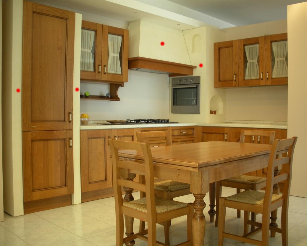 Cucina Angolare Febal Modello Certosa Scontata Del  55% Cucine A  #C21109 1038 832 Panca Angolare Per Cucina