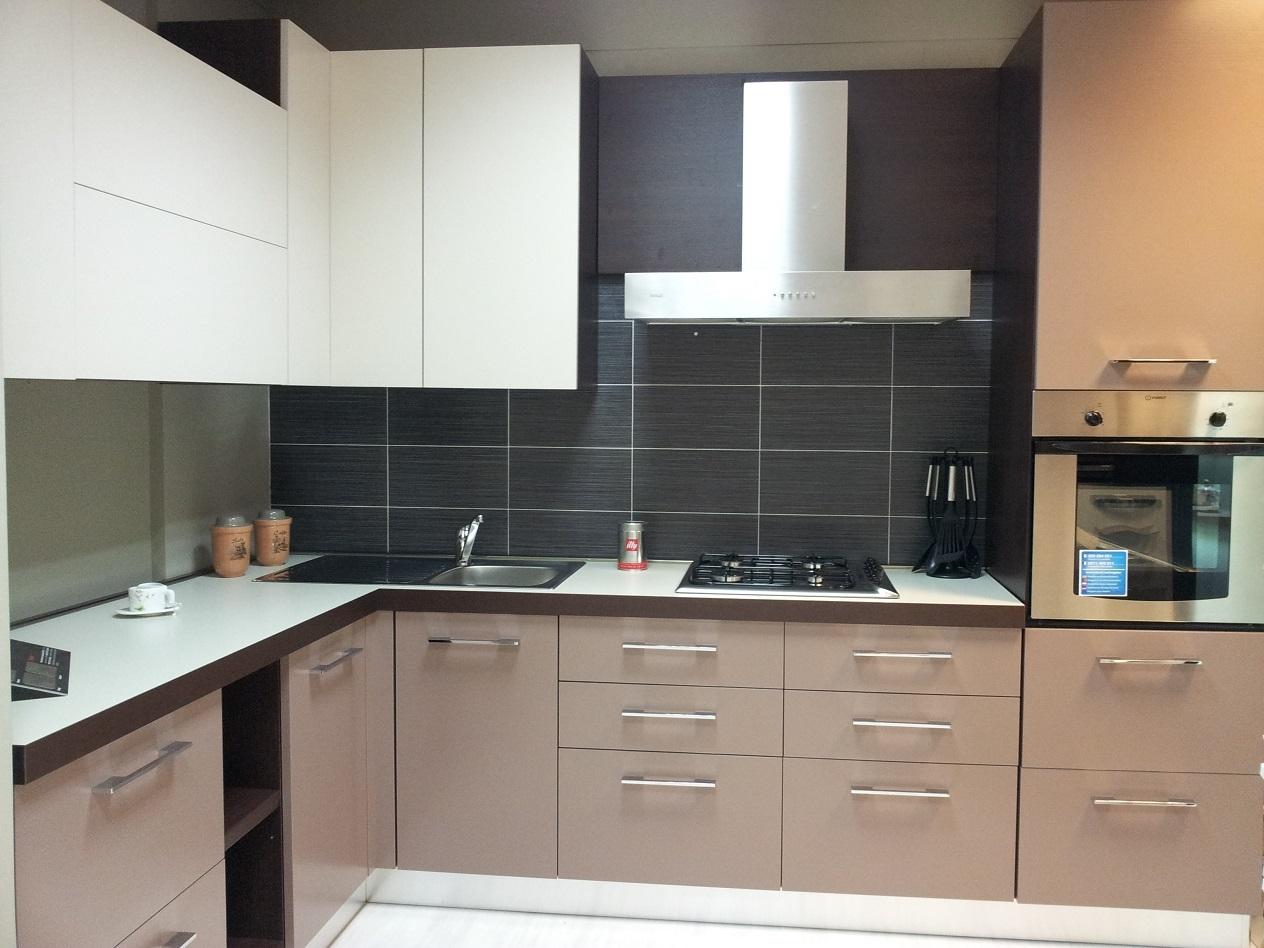 cucina angolare frassino laccato -54% - Cucine a prezzi ...