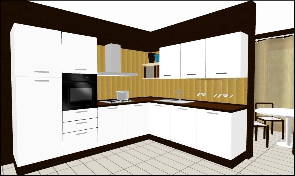 Cucina angolare in promozione cucine a prezzi scontati - Progetto cucina angolare ...