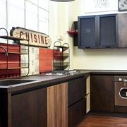 cucina moderna angolare  industriale stile in offerta completa