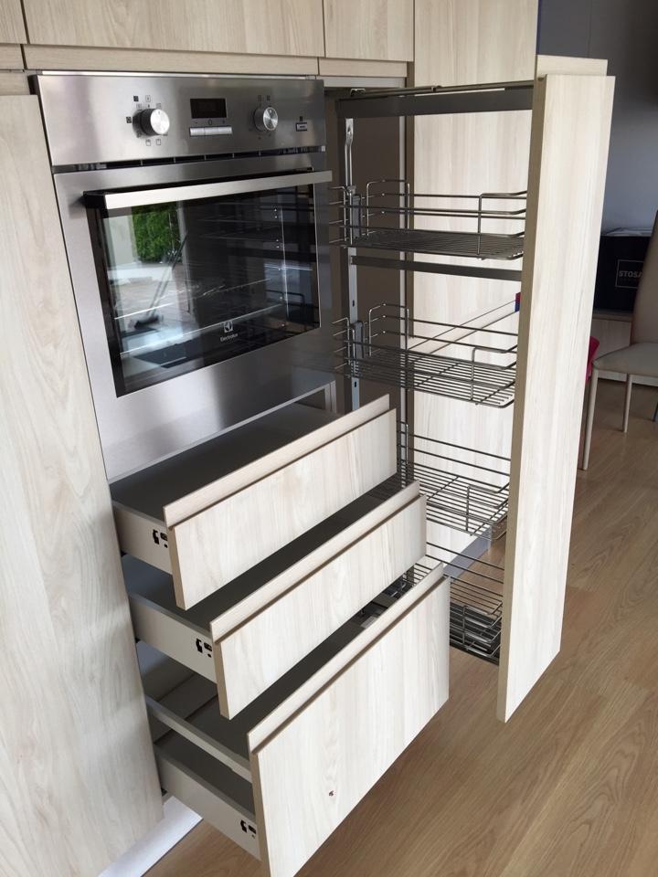 Cucina angolare moderna in laminato materico astra cucine for Cucina angolare moderna prezzi