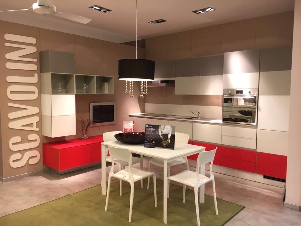 Cucina angolare scavolini a prezzi scontati cucine a for Scavolini prezzi
