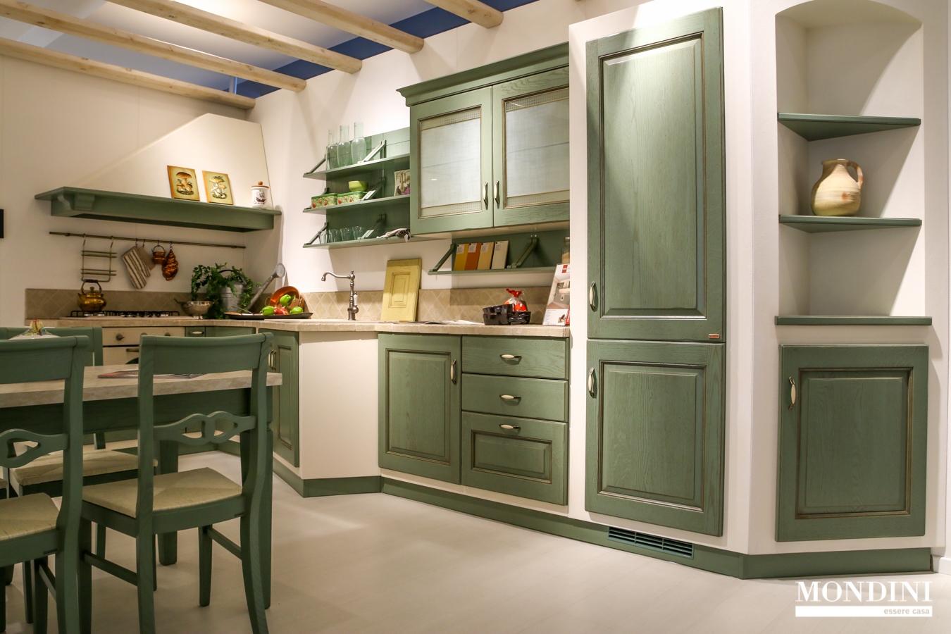 Cucina angolare scavolini in muratura scontata del 51 for Cucine in muratura