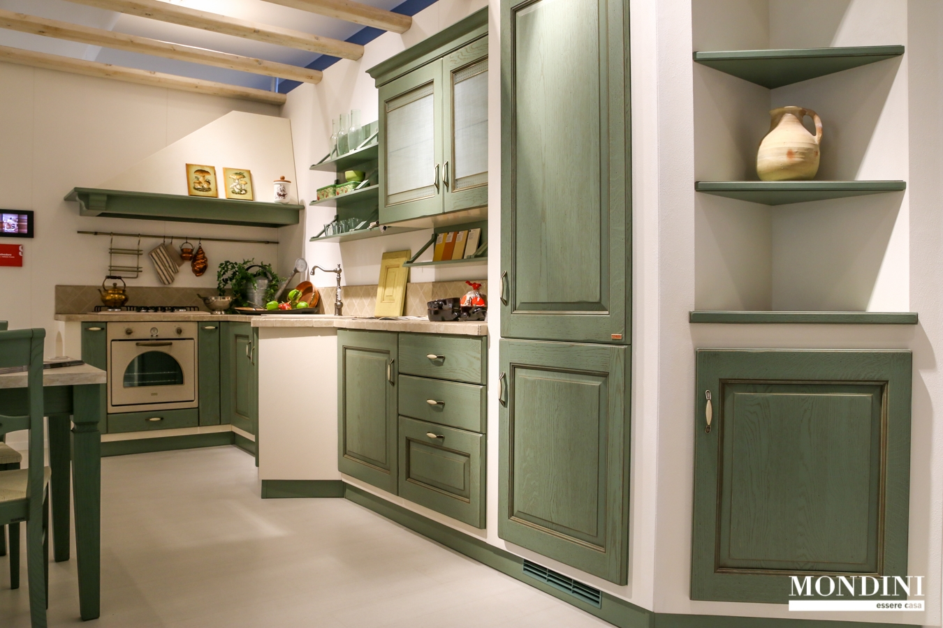 Cucina angolare scavolini in muratura scontata del 51 - Cucine in muratura ad angolo ...