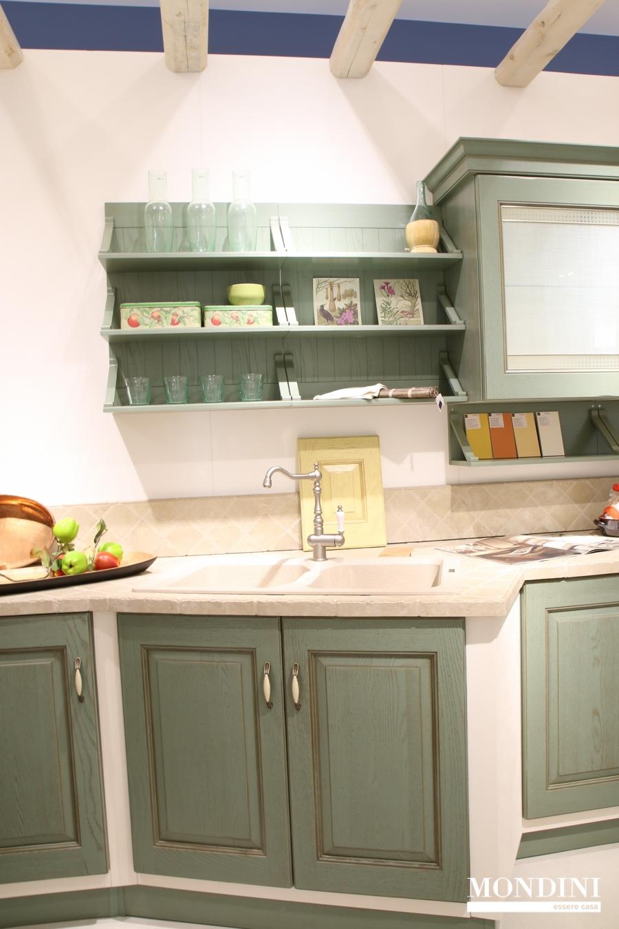 Cucina angolare scavolini in muratura scontata del 51 for Cucine muratura prezzi