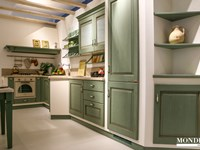 Cucina angolare Scavolini in muratura scontata del 51% - Cucine a ...