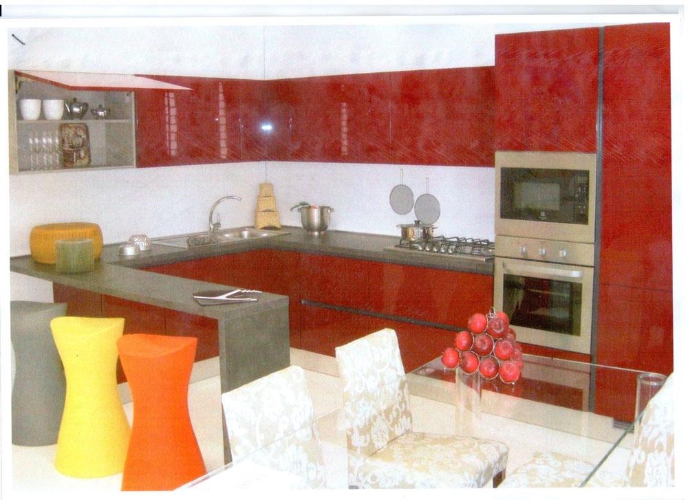 Cucina angolo aster cucine scontata del 58 cucine a prezzi scontati - Cucine aster prezzi ...