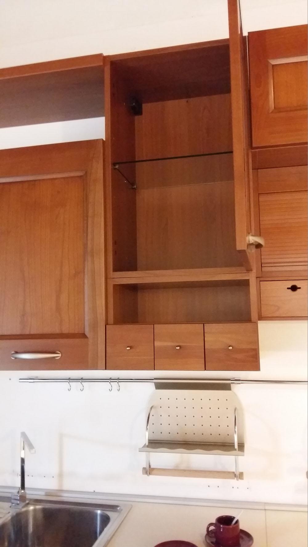 Cucina In Ciliegio Scontata : Cucina angolo maior in legno ciliegio scontata del