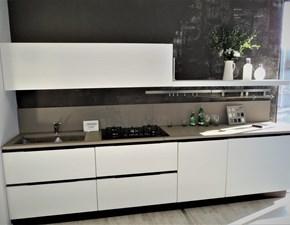 Cucina Anice design bianca lineare Arrex