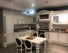 Cucina Anna classica bianca ad angolo Arrex