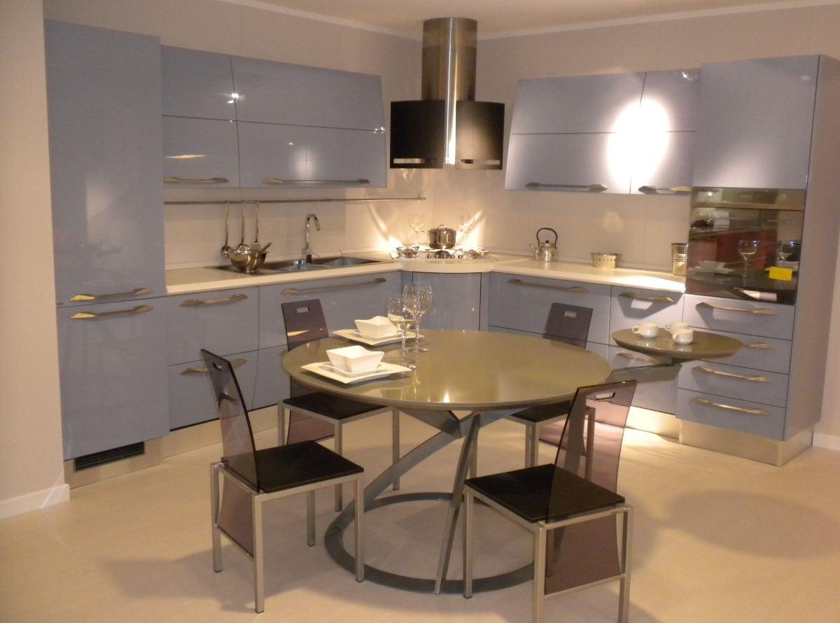 Cucina anta curva Scavolini modello Flux scontata del 54% - Cucine a ...