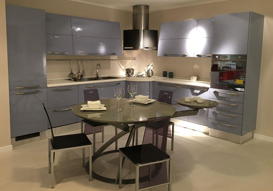 Cucina anta curva scavolini modello flux scontata del 54 cucine a prezzi scontati - Cucine lube o scavolini ...