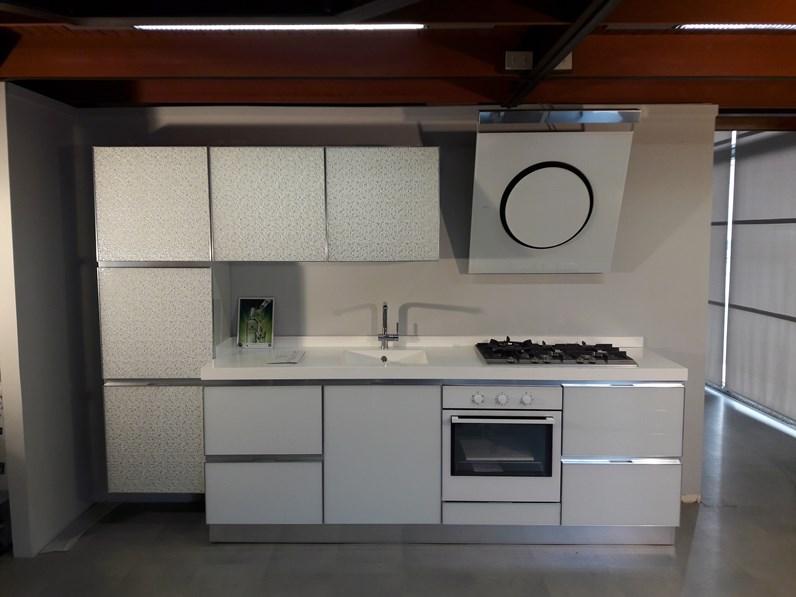 Cucina modello Horizon di Dibiesse cucine completa di elettrodomestici a  prezzo scontato