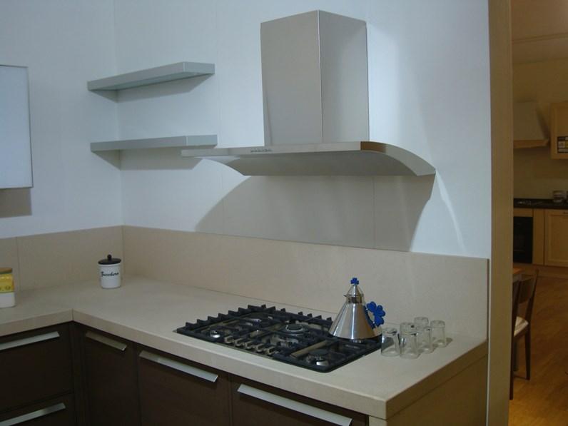Cucina antracite moderna ad angolo time gm cucine in - Cucina angolo moderna ...
