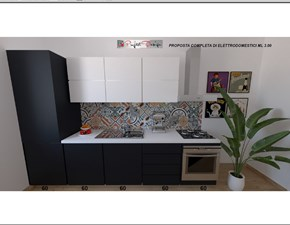 Cucina antracite moderna lineare Astra Astra cucine