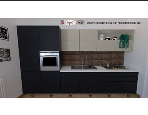 Cucina antracite moderna lineare Line Astra cucine