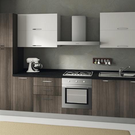 outlet Cucina Ar-Due Sesamo Moderne Laminato Materico Larice