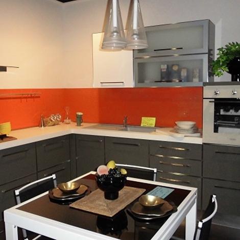 Cucina ar due smeraldo moderna laccato lucido grigio cucine a prezzi scontati - Cucine ar due ...