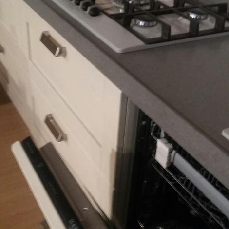 Cucina lineare con piano in okite   cucine a prezzi scontati