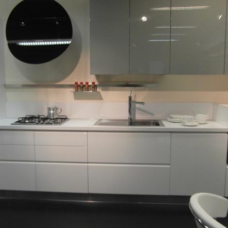 cucina ar-tre flo' moderna laccato lucido bianca - cucine a prezzi ... - Art Tre Cucine