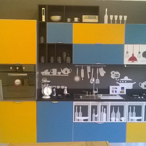 Cucina aran cover con frontali magnetici intercambiabili   cucine ...