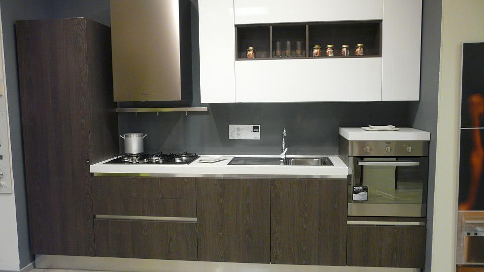 Cucina aran cucine bella moderna laminato materico - Cucine aran prezzi ...
